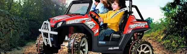 Les enfants sollicitent de plus en plus le quad électrique